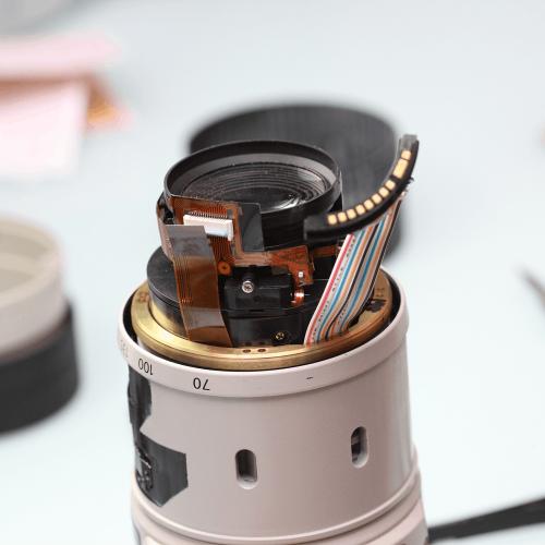 Sửa chữa lens canon EF 70-200mm F4 - sửa máy ảnh Canon Tp.hcm
