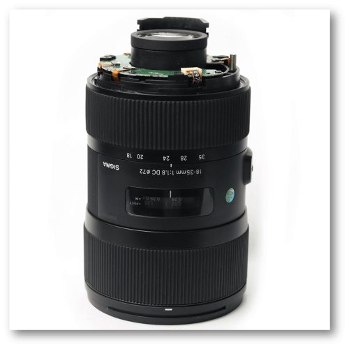 Sửa chữa Lens Sigma 18-35mm F1.8 HSM ART