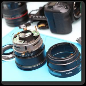 Sửa chữa Lens Sigma 85mm F1.4 - sửa máy ảnh hcm