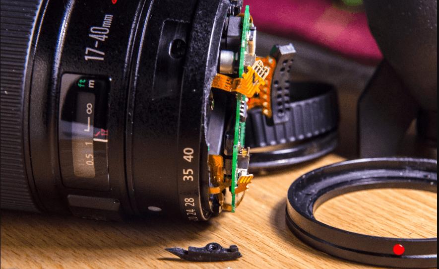 Sửa chữa ống kính máy ảnh