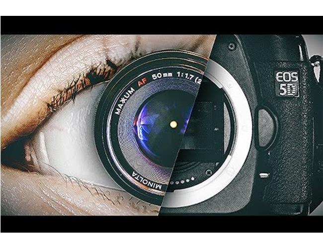 So sánh mắt người và máy ảnh
